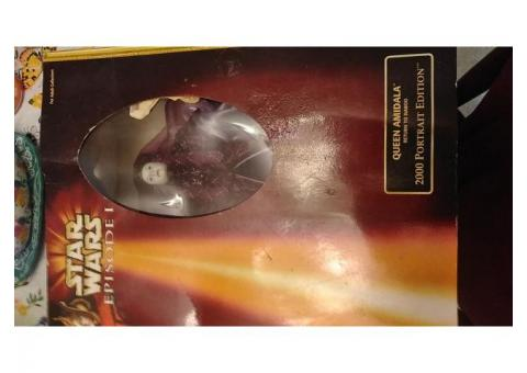COLLECTIBLE: Authentic Star Wars: Queen Amidala 2000 Portrait Naboo Return